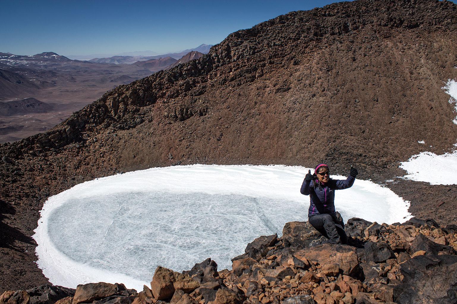 KAREN SÁNCHEZ CONTRERAS: «Pasión por los cerros»