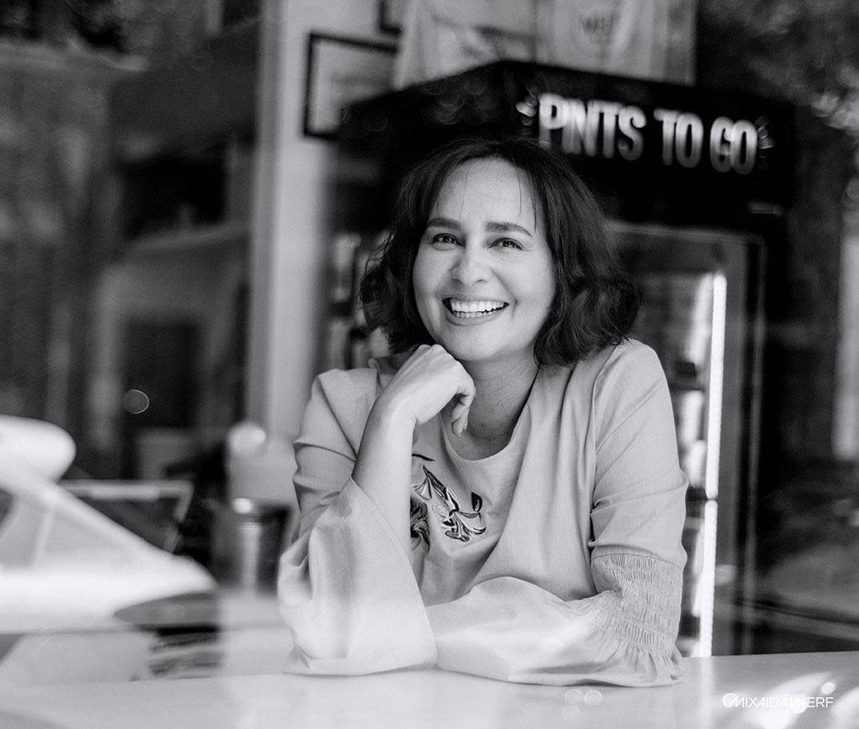 ANDREA AMOSSON: «Soy una pampina en tierras lejanas»