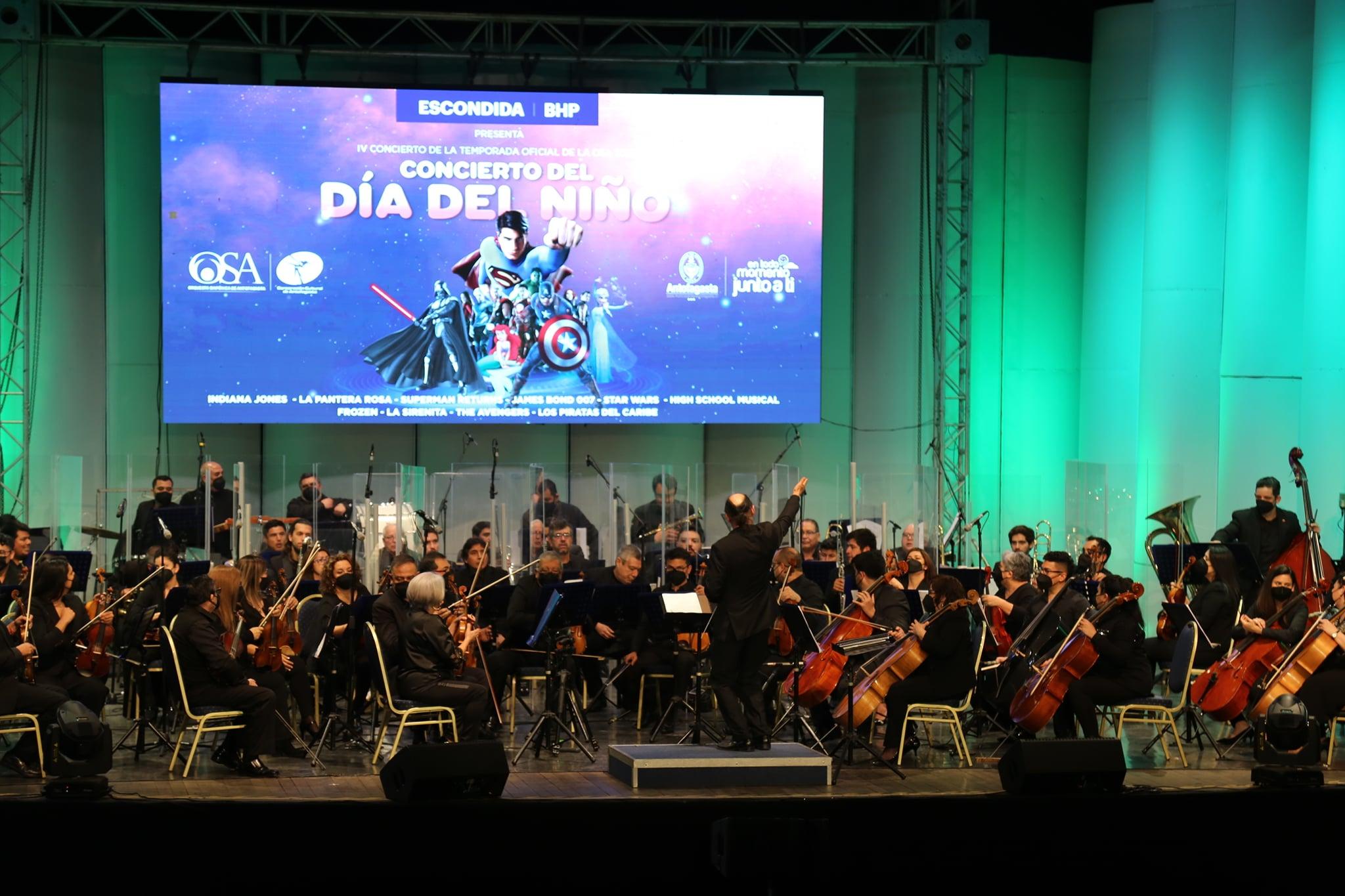 Sinfónica de Antofagasta fue la primera en Chile en retomar los conciertos con público