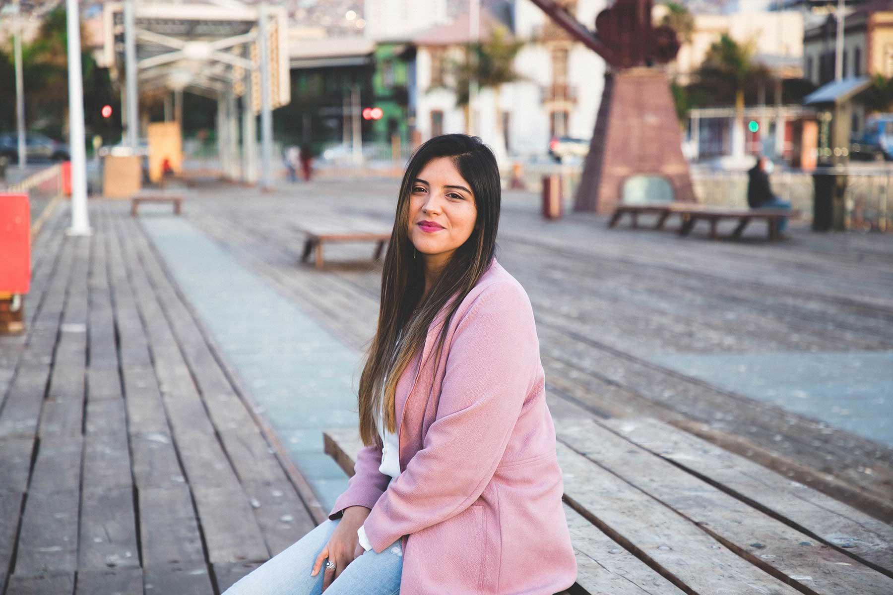 María Gloria Lazcano La identidad de una ciudad se construye desde sus barrios