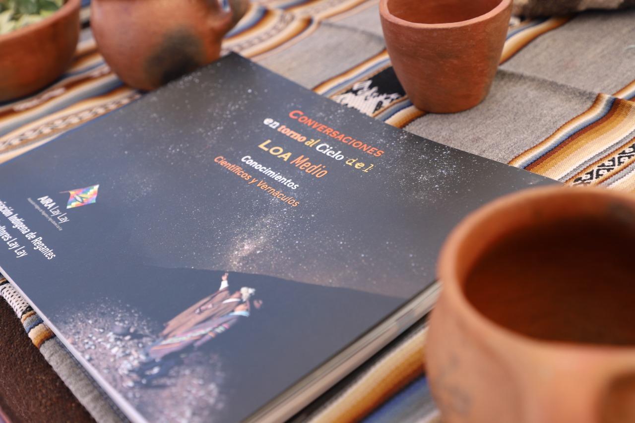 Asociación Indígena de Regantes y Agricultores Lay Lay presenta libro que rescata la cosmovisión andina
